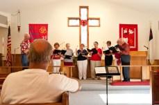 Choir performance.