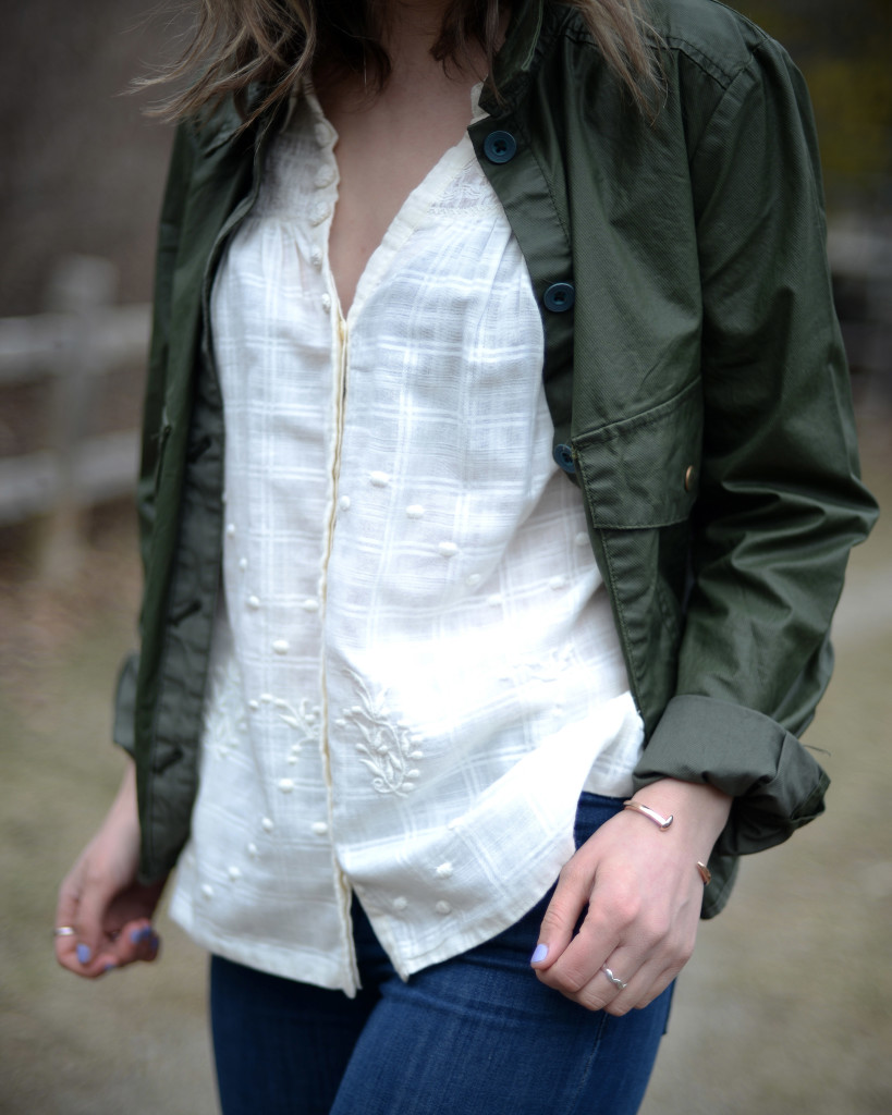 Anthropologie top and jacket - now on sale!