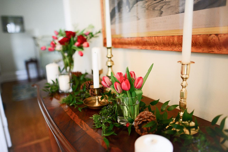 Christmas decor inspiration from Threads & Blooms