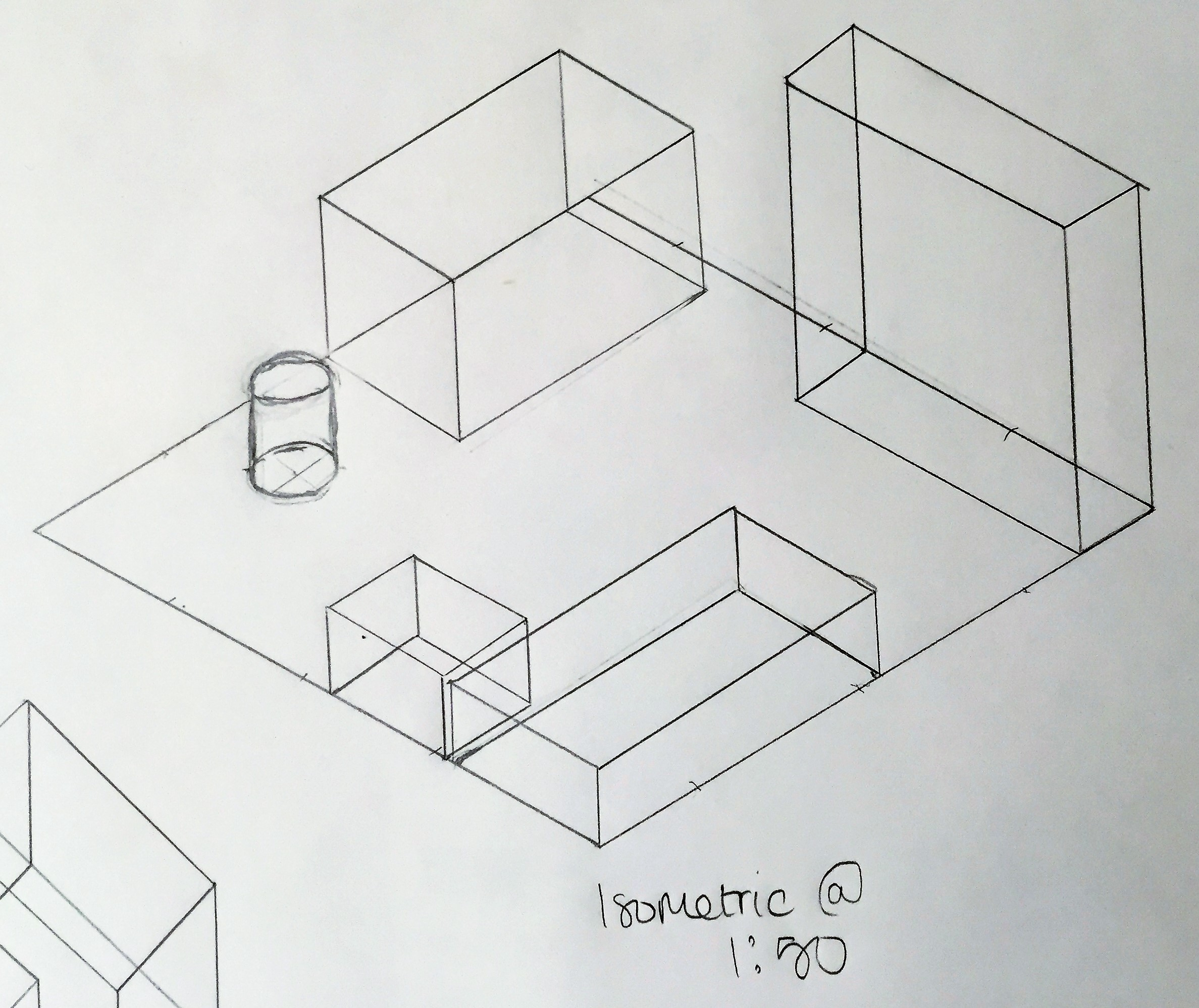 Plan Oblique And Isometric Drawing