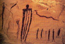 Cave Painting Utah