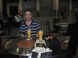 Scott at Guayaquil airport