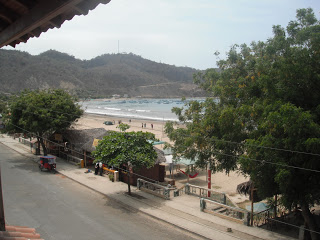 View from Hotel Pacifico, Puerto Lopez, Ecuador