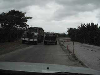 Ecuador road construction