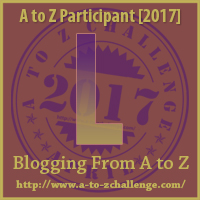 2017 A to Z Challenge - L