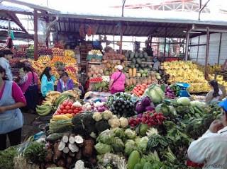 Produce at Feria Libre, Cuenca, Ecuador