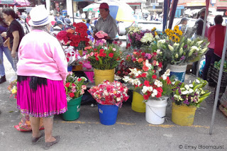 Flowers, Feria Libre, Cuenca, Ecuador