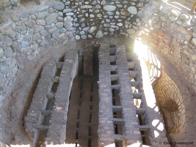 Inca oven