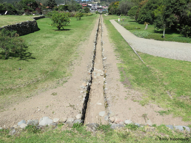Inca water canal
