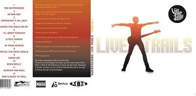 VANDERLINDE Live Trails album cover