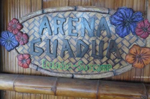 Arena Guadua Montanita Ecuador