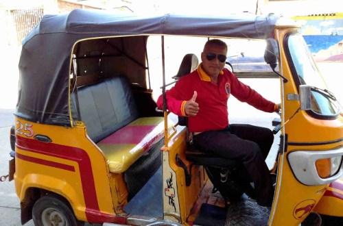 Jon, mototaxi driver