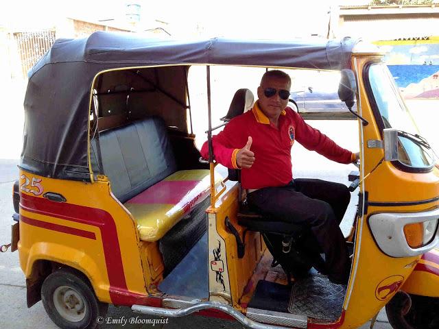 Jon, Puerto Lopez mototaxi driver