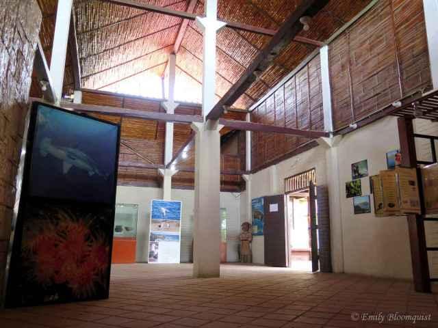 Ecuador's Machalilla National Park Headquarters inside building
