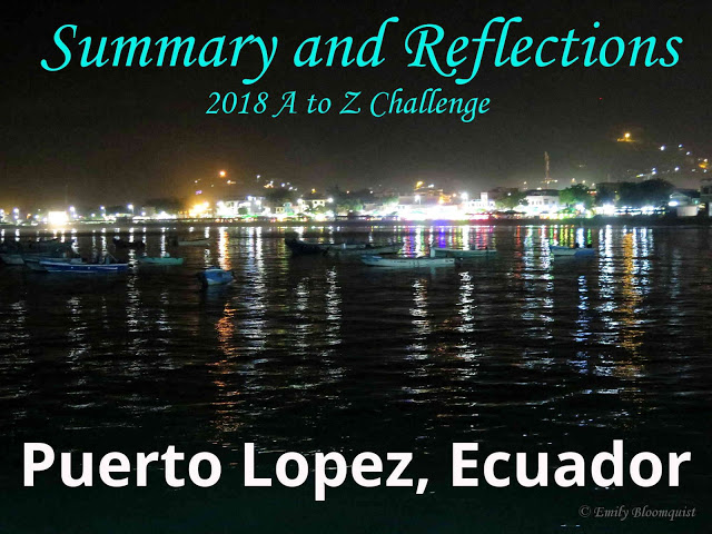 2018 A to Z Challenge Summary and Reflections