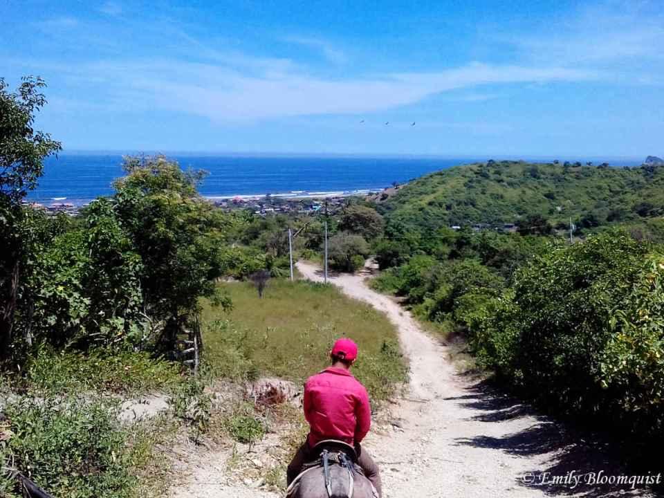 Horseback in Las Tunas, Ecuador