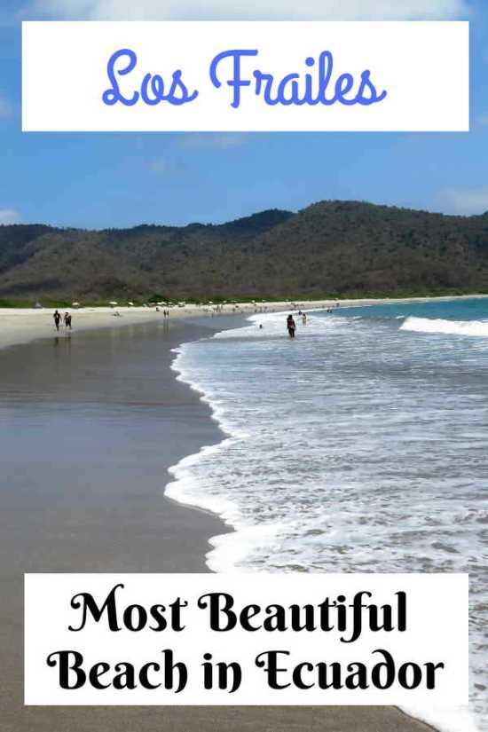 Los Frailes Beach - Most beautiful beach in Ecuador