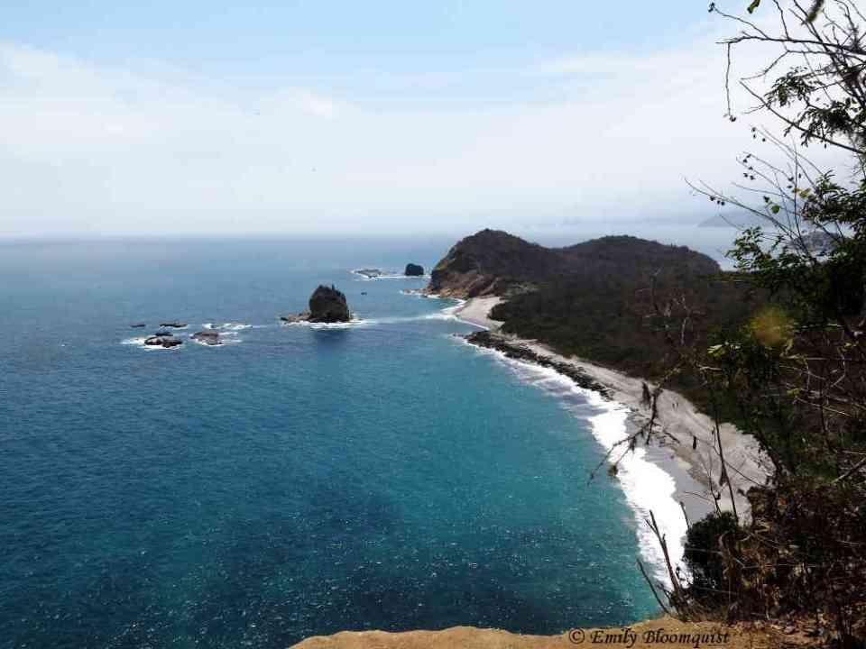 Overlooking Tortuga Beach