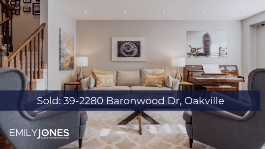 Sold: 39-2280 Baronwood Dr Oakville