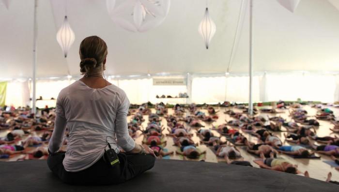 yoga teachers silence