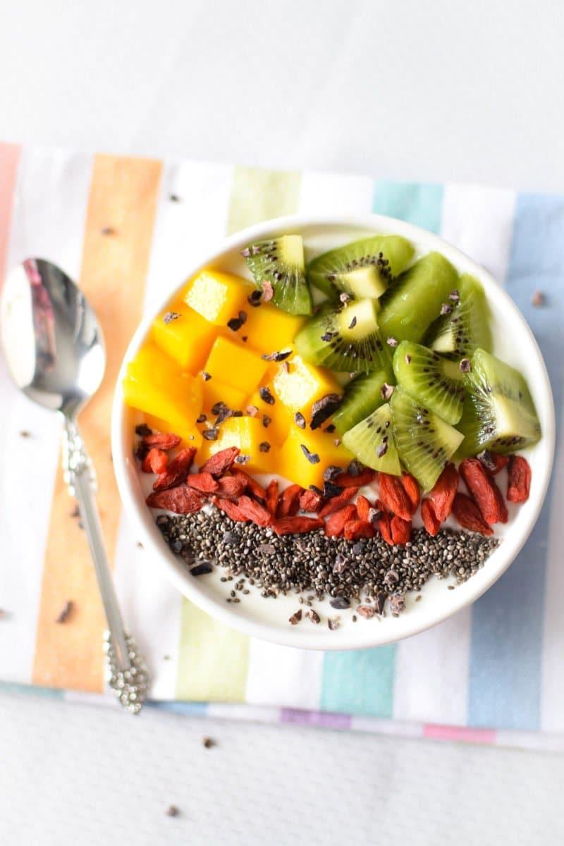Immune Boosting Tropical Breakfast Bowl