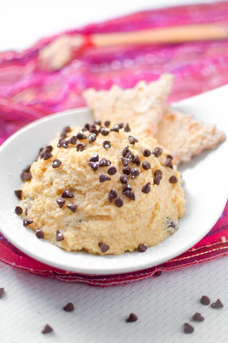 Vegan Cannoli Dip by Emily Kyle Nutrition