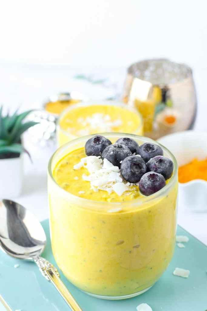 Turmeric Golden Milk Yogurt Bowl by Emily Kyle Nutrition