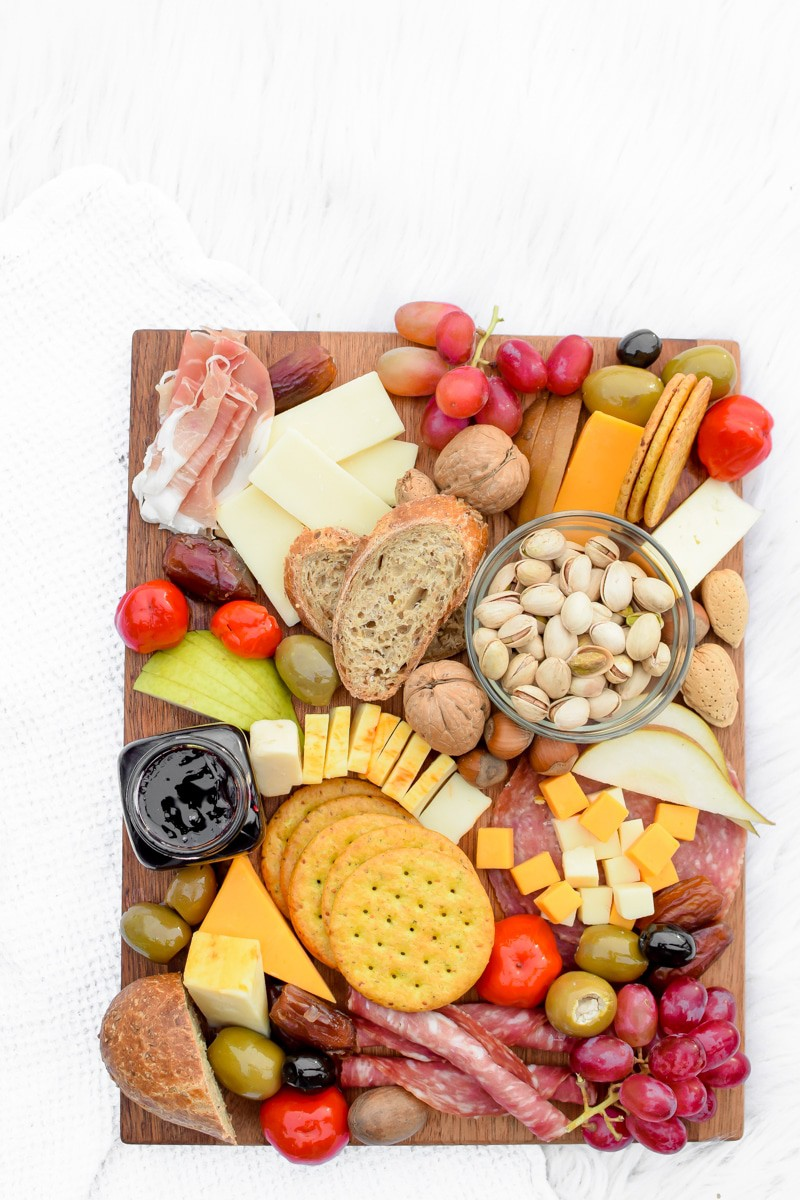 7 Steps to Building the Perfect Cheese Board by Emily Kyle Nutrition