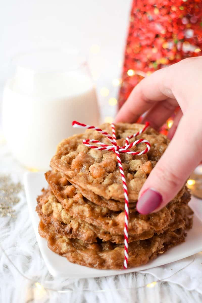 Butterscotch Oatmeal Cookies by Emily Kyle Nutrition