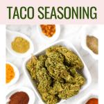 Healthy Cannabis Taco Seasoning - Cannabis Taco Seasoning