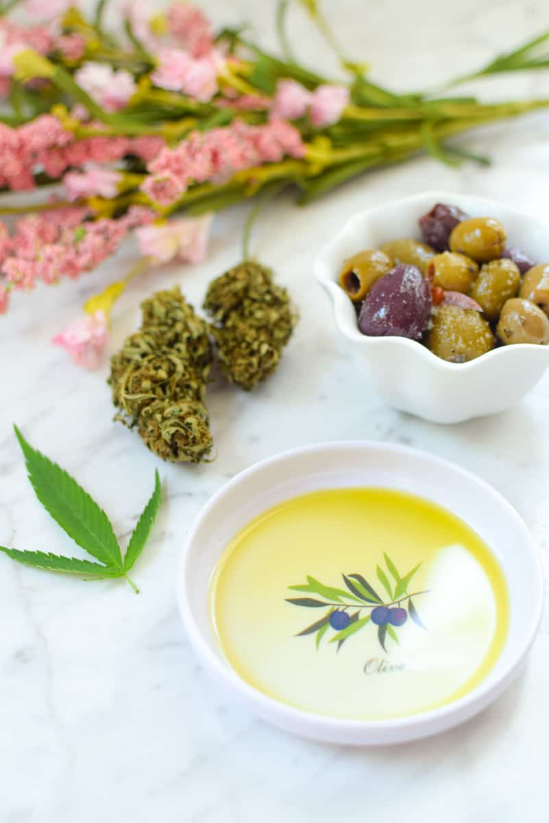 Cannabis Infused Olive Oil