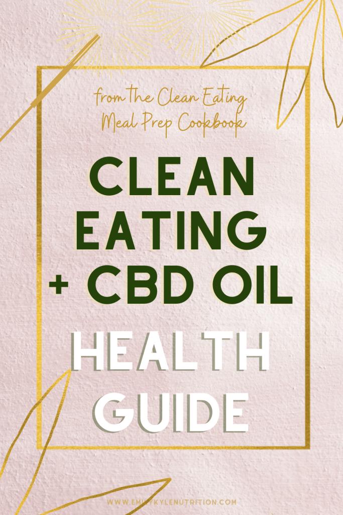 Clean Eating CBD Guide
