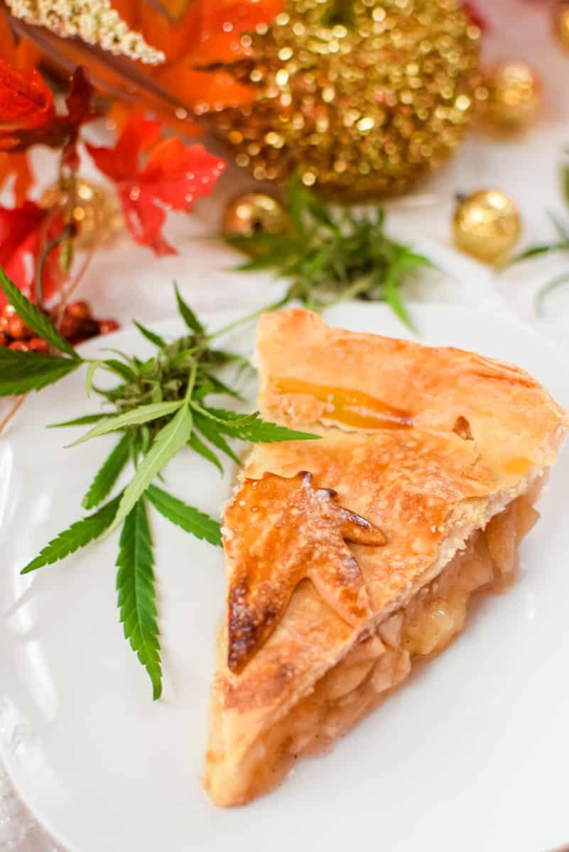 Cannabis Apple Pie by Emily Kyle Nutrition18 - Classic Homemade Cannabis Apple Pie
