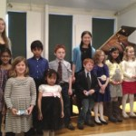 Winter 2012 piano studio recital in Chicago
