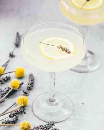 Lemon Lavender Sour