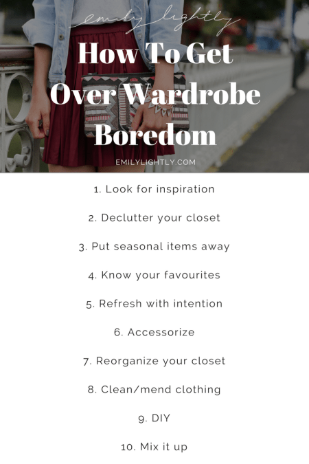 How To Get Over Wardrobe Boredom
