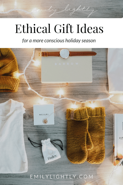 Ethical Gift Ideas for a More Conscious Holiday Season