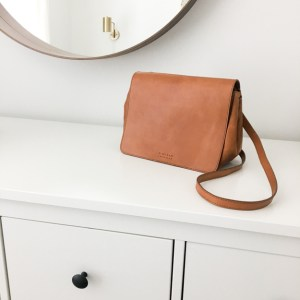 O MY BAG Lucy Cognac - Emily Lightly