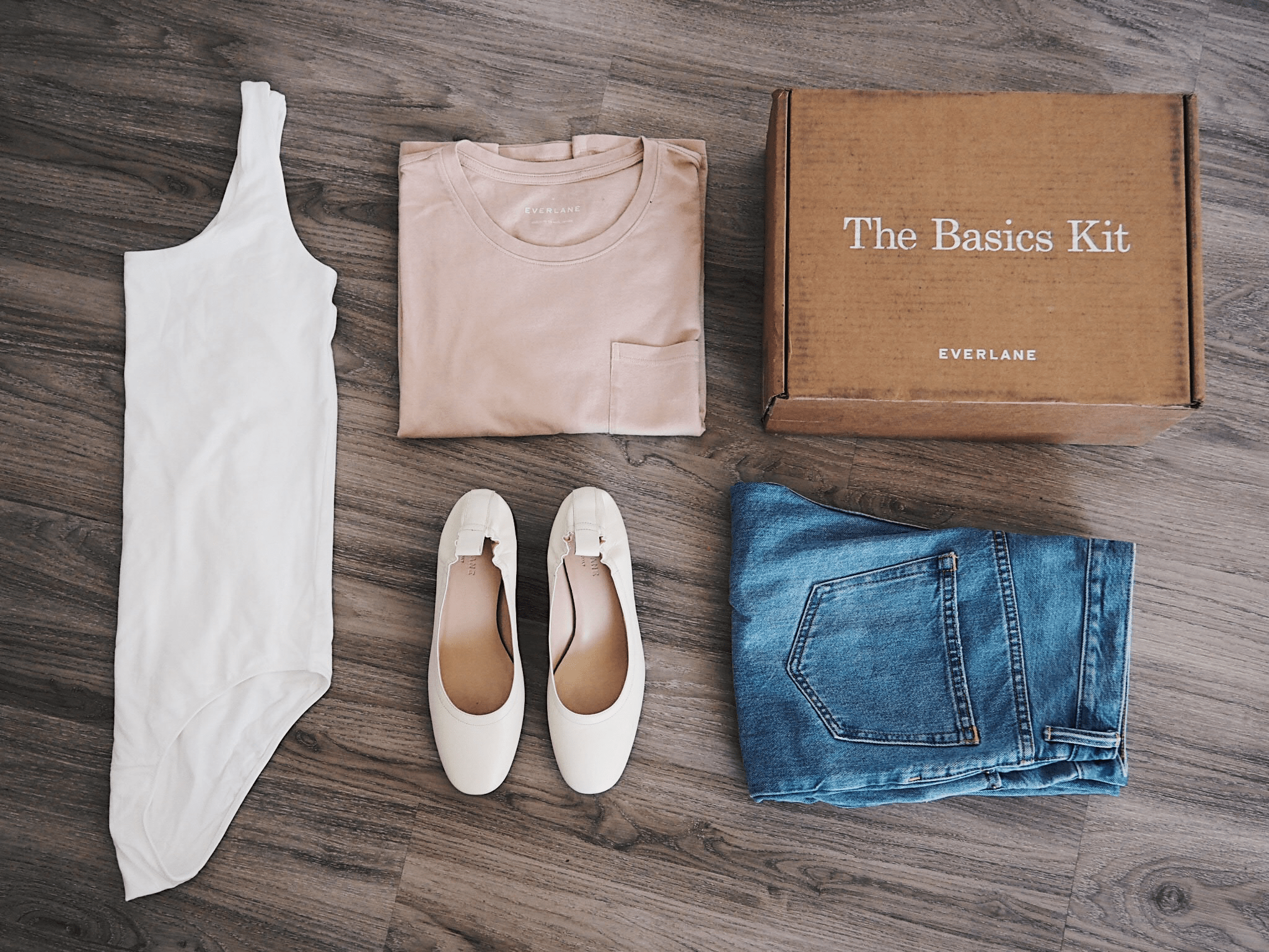 Basic Wardrobe Essentials with Everlane - Emily Lightly