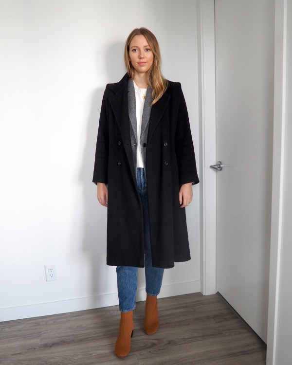 How to Style Boots & Blazers for Fall featuring Everlane - Emily Lightly