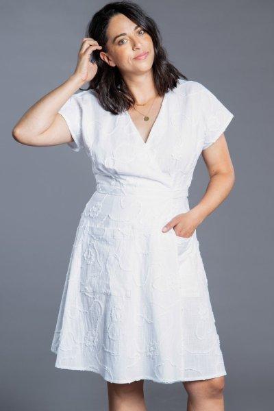 Closet Core Elodie Wrap Dress