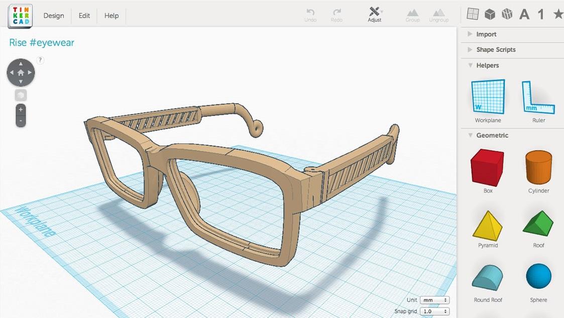 [3D列印] 輕鬆上手的3D列印軟體 Tinkercad – emily's playground