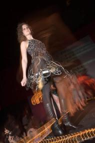 2012 Object Runway IGCA Bicycle Sprocket Dress Amanda Longbrake Odegard 3