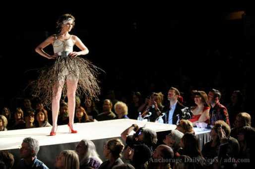 2013 Object Runway IGCA twig dress 2