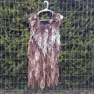2015 Bunnell Wearable Art Laser Cut Feather Dress 2
