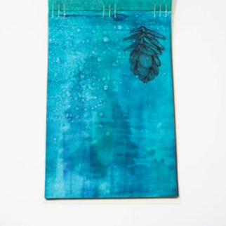 Fifty Trees artist book by Emily Longbrake 18