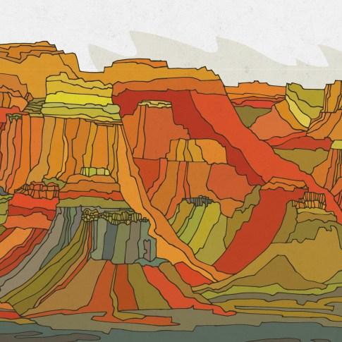 MUFG lenticular murals 4d