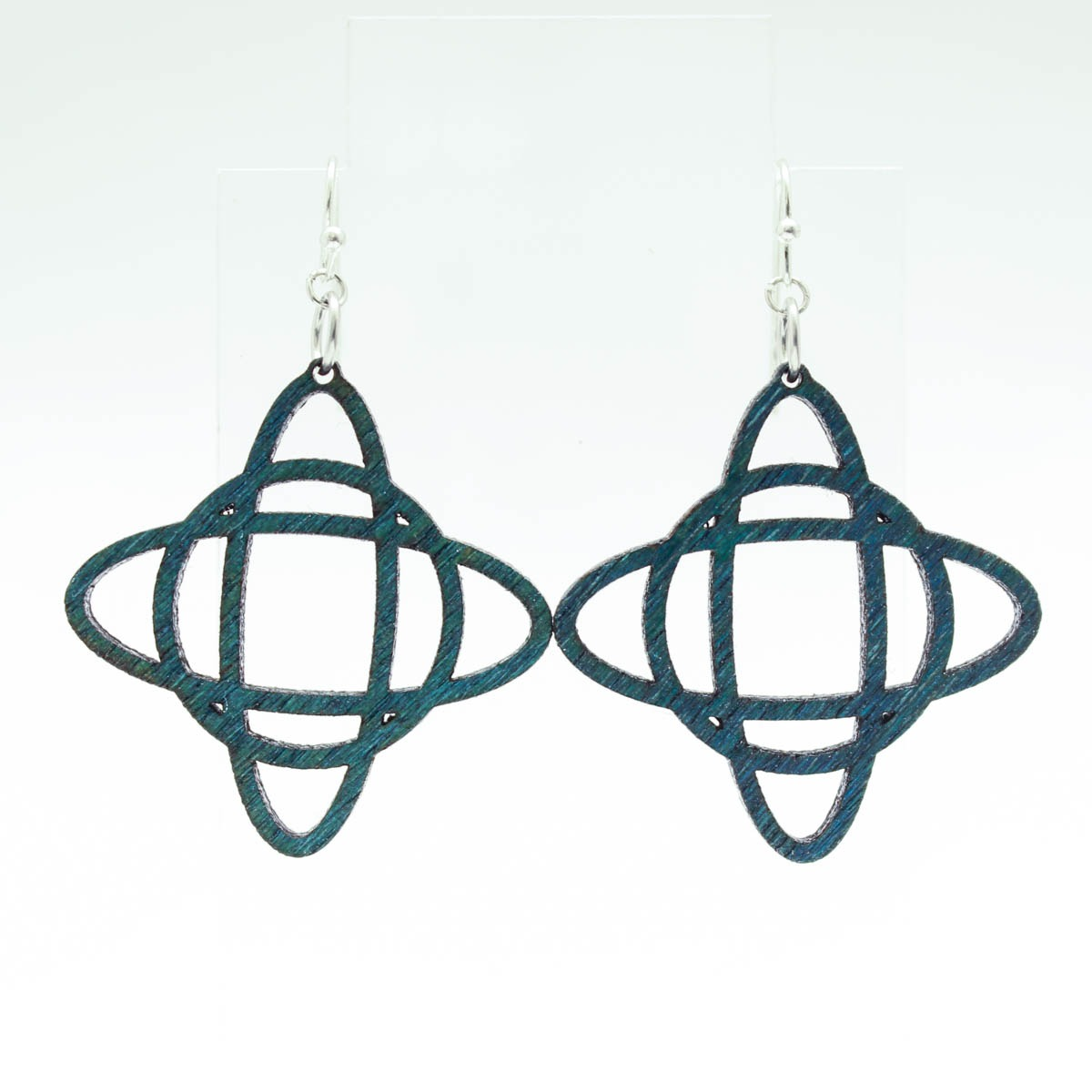 Star Loop Earrings