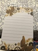 Notepad designed by @catarinabookdesigns