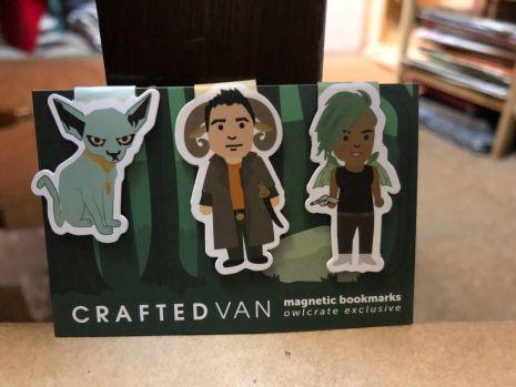 Saga Magnetic Bookmarks designed by Craftedvan